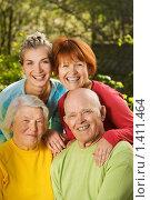 Купить «Счастливая семья», фото № 1411464, снято 10 мая 2008 г. (c) Andrejs Pidjass / Фотобанк Лори
