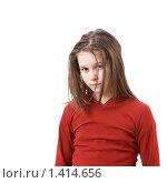 Купить «Обиженный ребёнок», фото № 1414656, снято 20 января 2010 г. (c) Татьяна Гришина / Фотобанк Лори