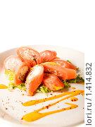 Купить «Мясное блюдо», фото № 1414832, снято 4 мая 2008 г. (c) Коваль Василий / Фотобанк Лори