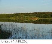 Речной остров. Стоковое фото, фотограф Константин Григорьев / Фотобанк Лори