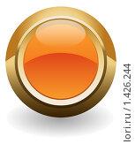 Купить «Оранжевая кнопка», иллюстрация № 1426244 (c) Потапов Денис / Фотобанк Лори