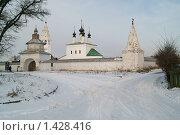 Купить «Суздаль», фото № 1428416, снято 22 декабря 2009 г. (c) Николай Богоявленский / Фотобанк Лори