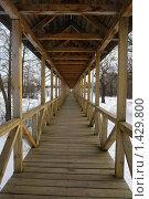 Купить «Мост», фото № 1429800, снято 24 февраля 2008 г. (c) Николай Богоявленский / Фотобанк Лори