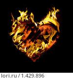Пылающее сердце. Стоковое фото, фотограф Александр Юркинский / Фотобанк Лори