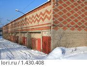 Купить «Гаражи», фото № 1430408, снято 30 января 2010 г. (c) АЛЕКСАНДР МИХЕИЧЕВ / Фотобанк Лори