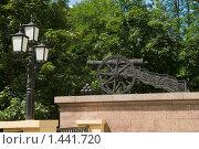Купить «Гомель,Беларусь,пушка в парке», фото № 1441720, снято 29 июля 2009 г. (c) Владимир Фаевцов / Фотобанк Лори
