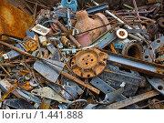 Свалка металлолома. Стоковое фото, фотограф Карташов Евгений / Фотобанк Лори