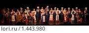 Купить «Кубанский казачий хор», фото № 1443980, снято 4 ноября 2009 г. (c) V.Ivantsov / Фотобанк Лори