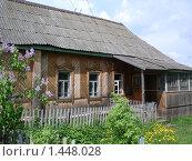 Купить «Сельский дом», фото № 1448028, снято 8 ноября 2008 г. (c) Ольга Лерх Olga Lerkh / Фотобанк Лори