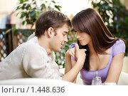 Влюбленная пара. Стоковое фото, фотограф Raev Denis / Фотобанк Лори