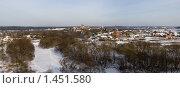 Купить «Панорама Боровска», фото № 1451580, снято 31 января 2010 г. (c) Валерий Пчелинцев / Фотобанк Лори