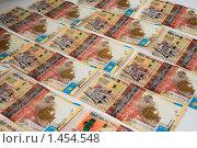 Купить «Деньги Казахстана», фото № 1454548, снято 5 февраля 2010 г. (c) Александр Малышев / Фотобанк Лори