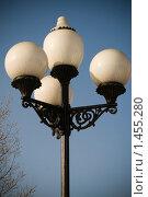 Купить «Уличный фонарь», фото № 1455280, снято 7 февраля 2010 г. (c) Иван Веселов / Фотобанк Лори