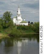 Ризоположенская церковь. 1777 год. Суздаль (2009 год). Стоковое фото, фотограф Горская Анна / Фотобанк Лори