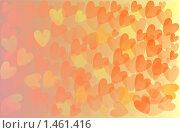 Фон, сердечки. Стоковая иллюстрация, иллюстратор Светлана Арешкина / Фотобанк Лори