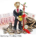 """Купить «""""Люди и деньги"""". Человек и символы Фэн-шуй. Бизнес процветает», эксклюзивное фото № 1462156, снято 8 февраля 2010 г. (c) Юрий Морозов / Фотобанк Лори"""