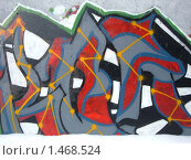 Купить «Граффити. Абстрактный рисунок.», фото № 1468524, снято 8 февраля 2010 г. (c) Денис Кравченко / Фотобанк Лори