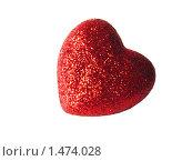 Красное сердце. Стоковое фото, фотограф Яков Козарез / Фотобанк Лори