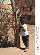 Купить «Девочка из лагеря беженцев в Харгейсе», фото № 1474072, снято 11 января 2010 г. (c) Free Wind / Фотобанк Лори