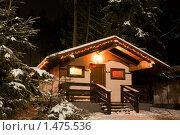 Купить «Домик в лесу», фото № 1475536, снято 5 января 2009 г. (c) Артём Сапегин / Фотобанк Лори