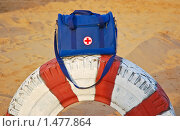 Купить «Медицинская сумка - аптечка», эксклюзивное фото № 1477864, снято 12 апреля 2009 г. (c) Алёшина Оксана / Фотобанк Лори