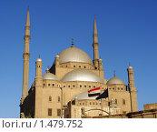 Мечеть Мухаммеда Али в Каире (2010 год). Стоковое фото, фотограф Вера Веремейчук / Фотобанк Лори
