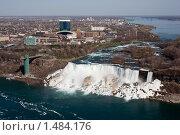 Водопад Ниагара (на границе США и Канады) (2005 год). Стоковое фото, фотограф Сергей Данилов / Фотобанк Лори