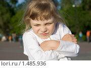 Портрет недовольной девочки. Стоковое фото, фотограф Смирнов Владимир / Фотобанк Лори