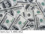 Доллары. Стоковое фото, фотограф Антон Ермолов / Фотобанк Лори