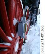 Купить «Поезд», фото № 1491656, снято 6 января 2010 г. (c) Лось Елизавета / Фотобанк Лори
