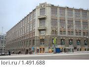 Здание Министерства связи и массовых коммуникаций РФ, фото № 1491688, снято 14 февраля 2010 г. (c) Владимир Горощенко / Фотобанк Лори