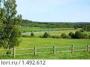 Купить «Деревенский летний пейзаж», фото № 1492612, снято 31 мая 2009 г. (c) Елена Ильина / Фотобанк Лори
