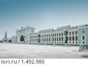 Вокзал Новосибирск Главный (2010 год). Стоковое фото, фотограф Энди / Фотобанк Лори