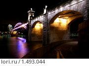 Андреевский мост с Фрунзенской набережной. Редакционное фото, фотограф Ткачёва Ольга / Фотобанк Лори