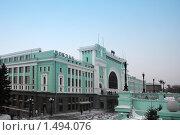 Вокзал Новосибирска (2010 год). Стоковое фото, фотограф Энди / Фотобанк Лори