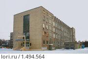 Купить «Уфа. УГНТУ, четвёртый корпус», фото № 1494564, снято 20 февраля 2010 г. (c) Art Konovalov / Фотобанк Лори