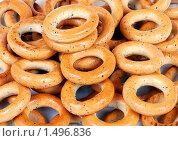 Купить «Сушки с маком», эксклюзивное фото № 1496836, снято 20 февраля 2010 г. (c) Юрий Морозов / Фотобанк Лори