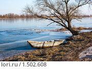 Зимний вид на замерзшую реку Дон. Стоковое фото, фотограф Кирилл Морозов / Фотобанк Лори