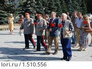 Купить «65 лет Великой победы в Курской битве», фото № 1510556, снято 23 августа 2008 г. (c) Александр Леденев / Фотобанк Лори