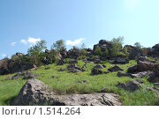 Скалы. Стоковое фото, фотограф Юрий Кириллов / Фотобанк Лори