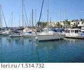 Купить «Яхты в Пуэрто Моган. Гран Канария», фото № 1514732, снято 9 февраля 2010 г. (c) Татьяна Чурсина / Фотобанк Лори