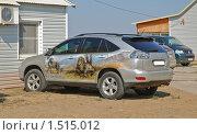 Купить «Аэрография на  автомобиле», эксклюзивное фото № 1515012, снято 12 апреля 2009 г. (c) Алёшина Оксана / Фотобанк Лори