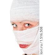 Девушка в бинтах. Стоковое фото, фотограф Jan Jack Russo Media / Фотобанк Лори