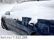 Купить «Автомобиль в  снегу», фото № 1522288, снято 12 февраля 2008 г. (c) Tamara Sushko / Фотобанк Лори