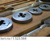Купить «Металлообрабатывающие инструменты», фото № 1523564, снято 31 января 2004 г. (c) Vadim Tatarnitsev / Фотобанк Лори