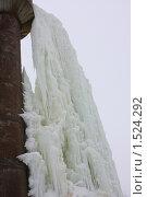 Ледовые каскады. Стоковое фото, фотограф Елена Чердынцева / Фотобанк Лори