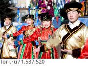 Купить «Люди танцуют в народных костюмах», фото № 1537520, снято 14 февраля 2010 г. (c) Александр Подшивалов / Фотобанк Лори