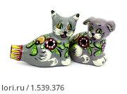 Купить «Свистульки глиняные», фото № 1539376, снято 8 марта 2010 г. (c) Александр Романов / Фотобанк Лори
