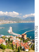 Купить «Вид на бухту Алании. Турция», фото № 1539732, снято 13 октября 2009 г. (c) Арестов Андрей Павлович / Фотобанк Лори