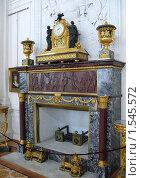 Купить «Старинный камин. Зал Государственного Эрмитажа. Санкт-Петербург», фото № 1545572, снято 2 июля 2009 г. (c) Katerina / Фотобанк Лори